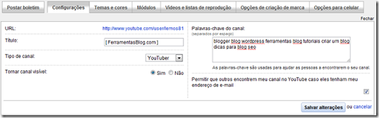 youtube-configuracoes