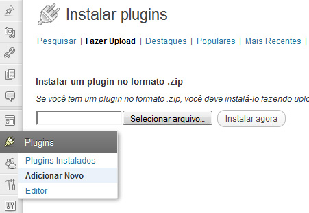 instalar o plugin floating nextprev
