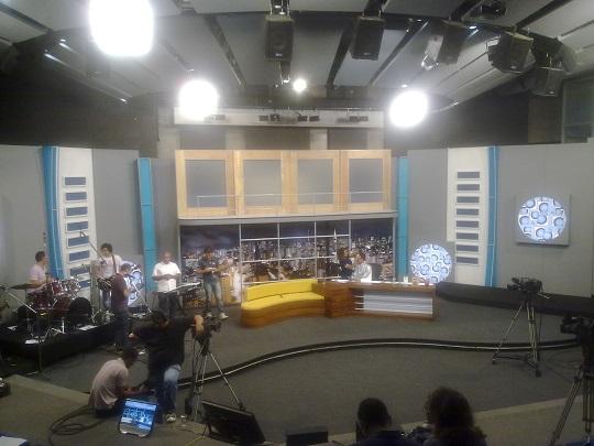 Estúdio do programa Papo Aberto da TV Canção Nova