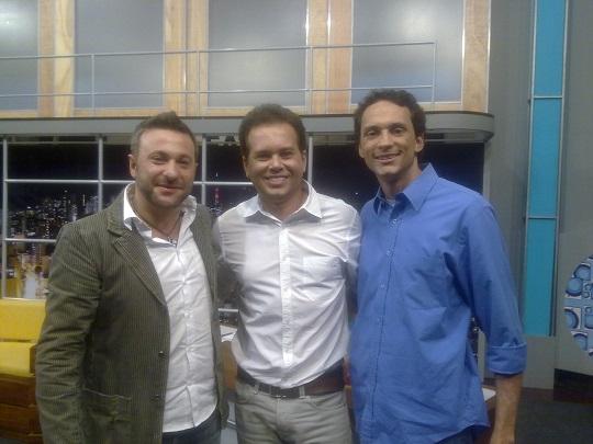 TV Canção Nova com Marcos Lemos e Márcio Mendes