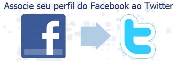 Como vincular o Facebook e o Twitter