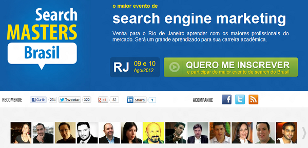 Search Masters Brasil 2012