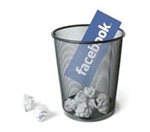 Como excluir perfil do Facebook