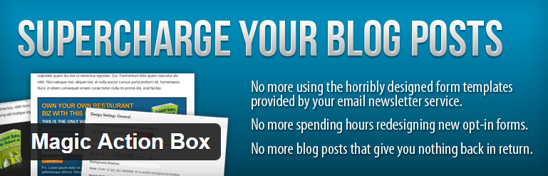 Magic Action Box WordPress Plugin