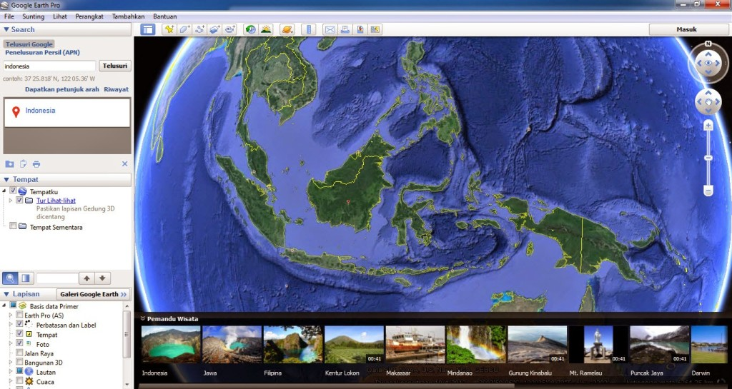 Google Earth Preview