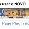 Como adicionar o novo Page Plugin do Facebook no Blog