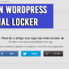 Como ter mais seguidores usando o Plugin Social Locker p/ WordPress