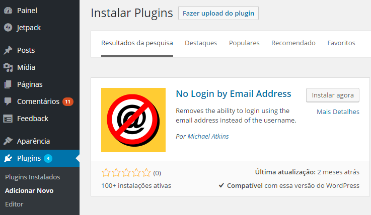 Plugin No Login by Email Address