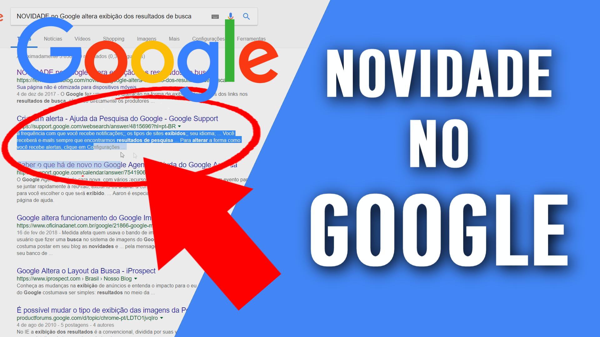 NOVIDADE no Google altera exibição dos resultados de busca 843643d828a
