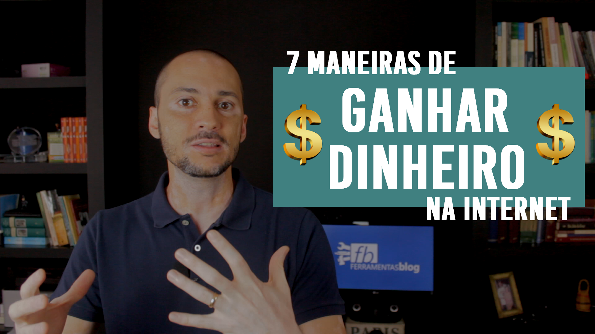 7 maneiras de ganhar dinheiro (extra) na internet e