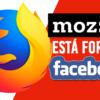 Escândalo do Facebook faz Mozilla (do FireFox) suspender publicidade
