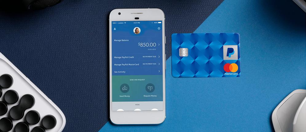 Cartão de crédito virtual PayPal