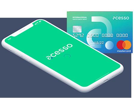Cartão de Crédito Internacional Acesso Card